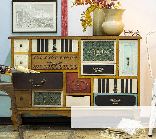cassettiera-vintage modernariato